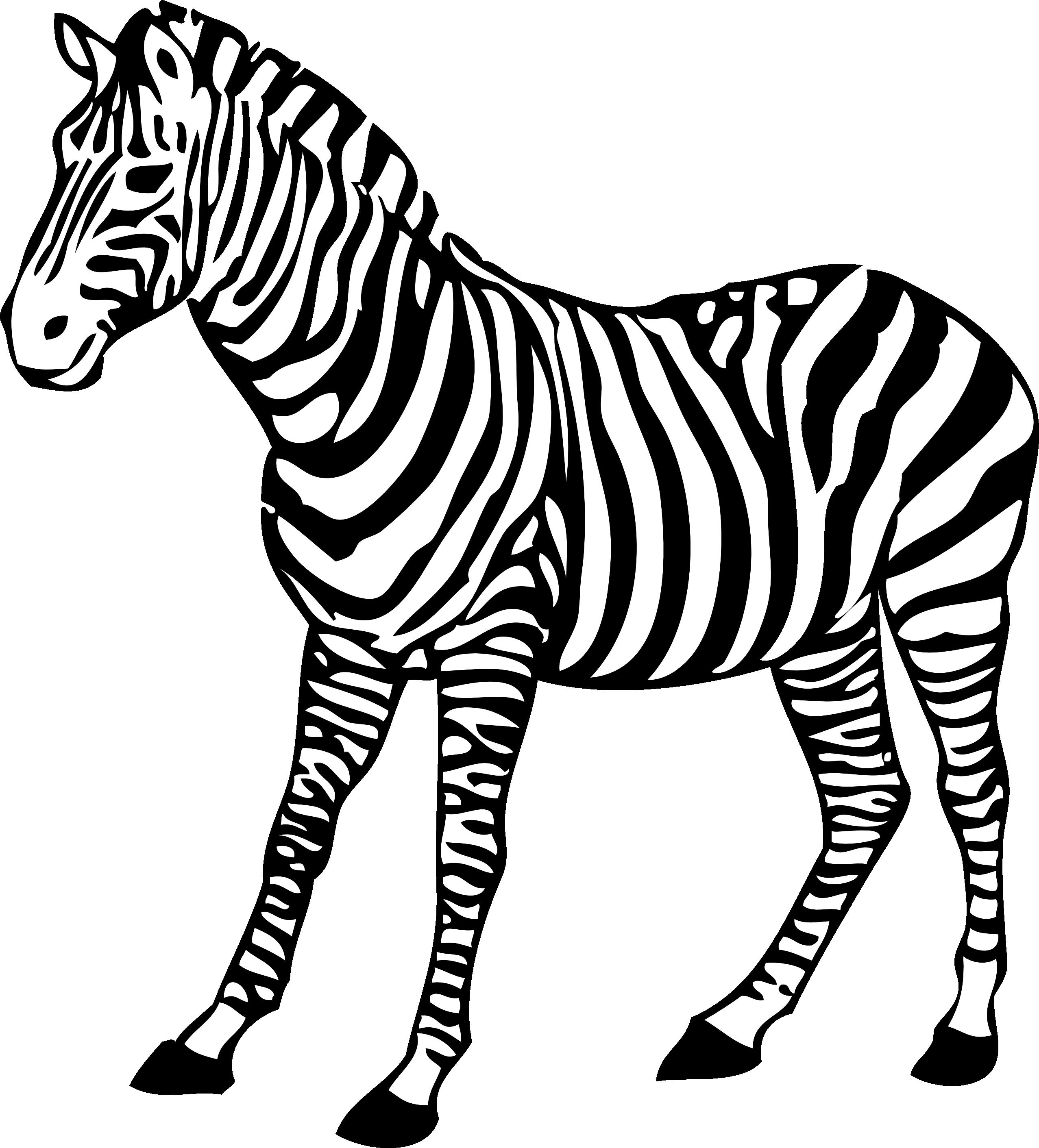 Zebra Clip Art 1 - Zebra Clipart