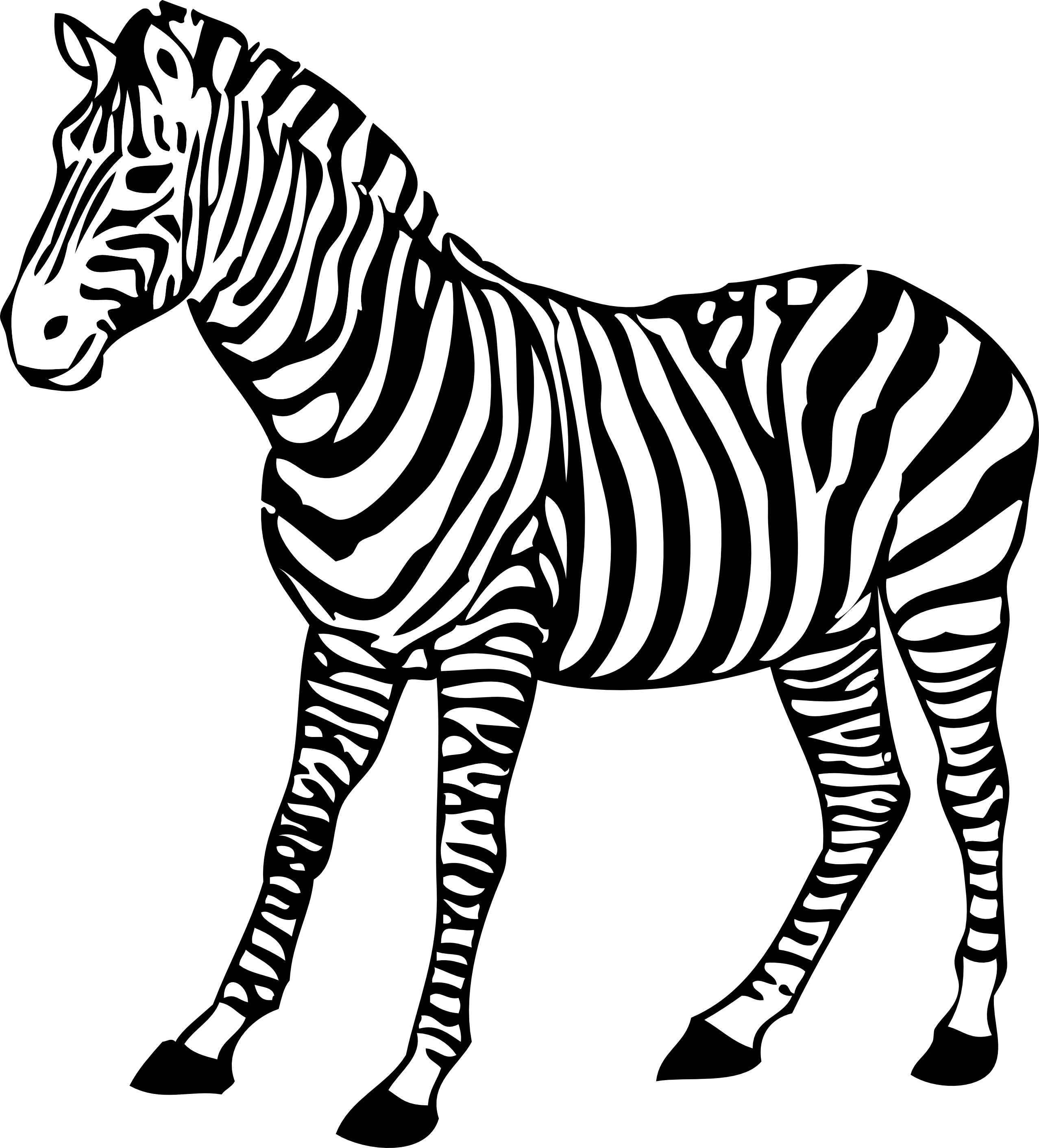 Zebra Clip Art 1