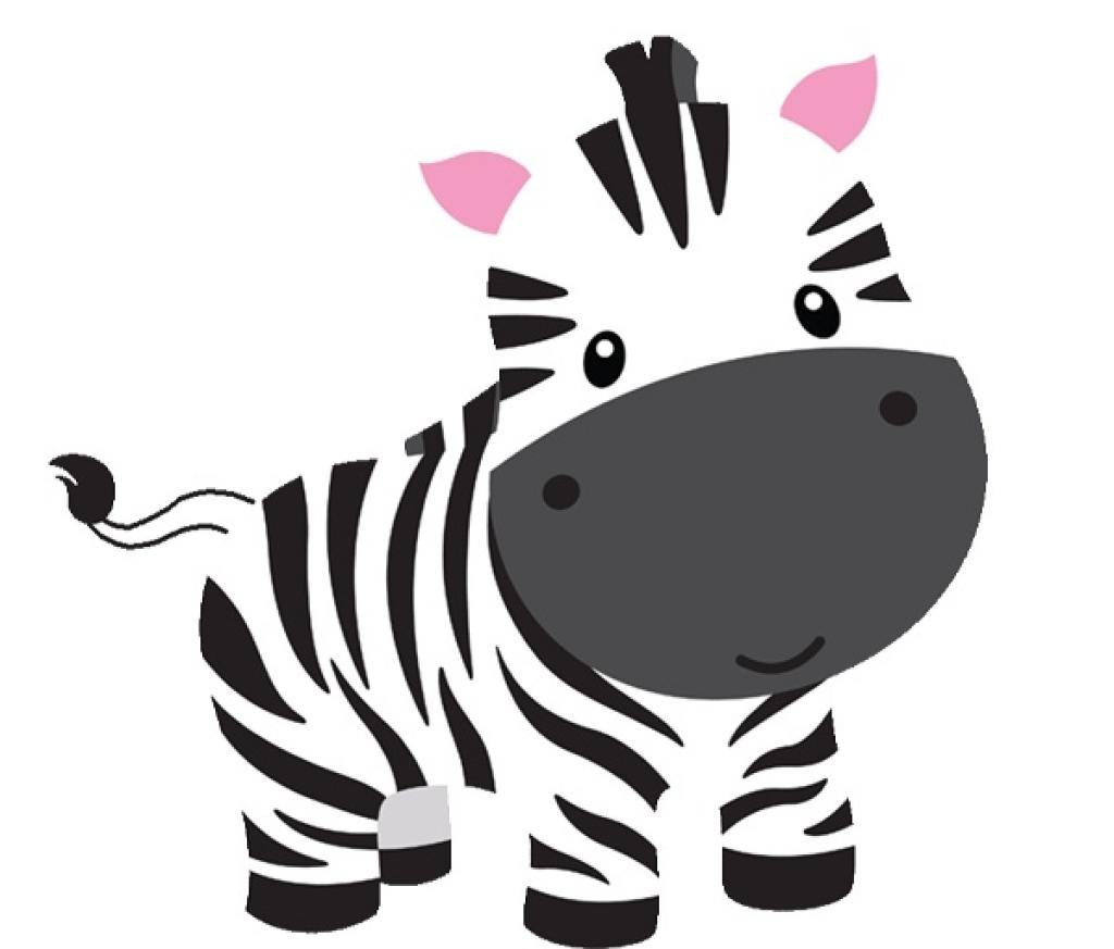 Zebra Clipart Easy Draw #3