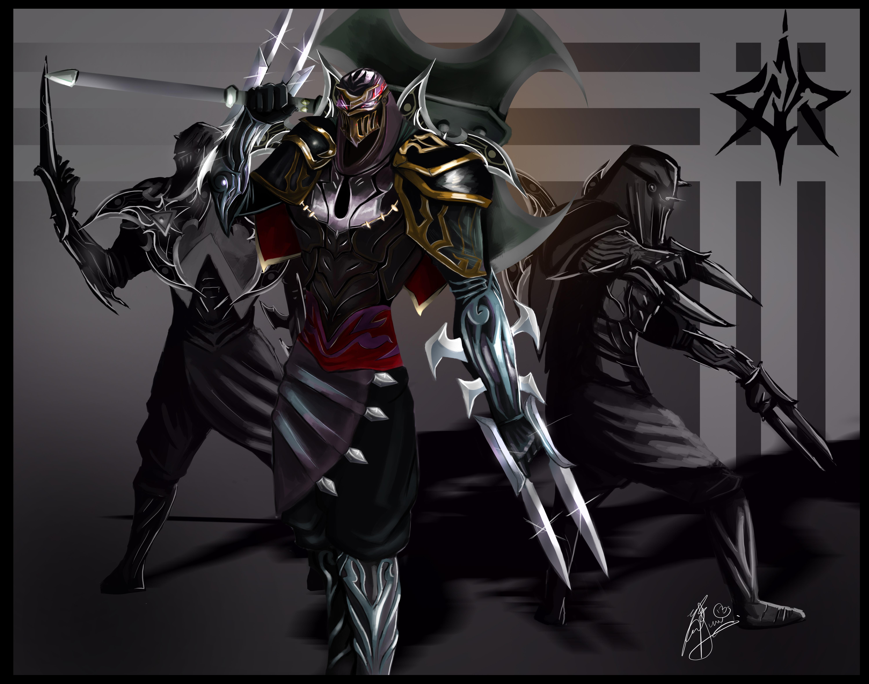 eoinart 1,475 38 Zed the Master of Shadows by LeonSerade
