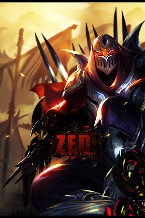 Zed ~ Master of Shadows by Padowan73 PlusPng clipartlook.com - Zed The Master Of Shadows