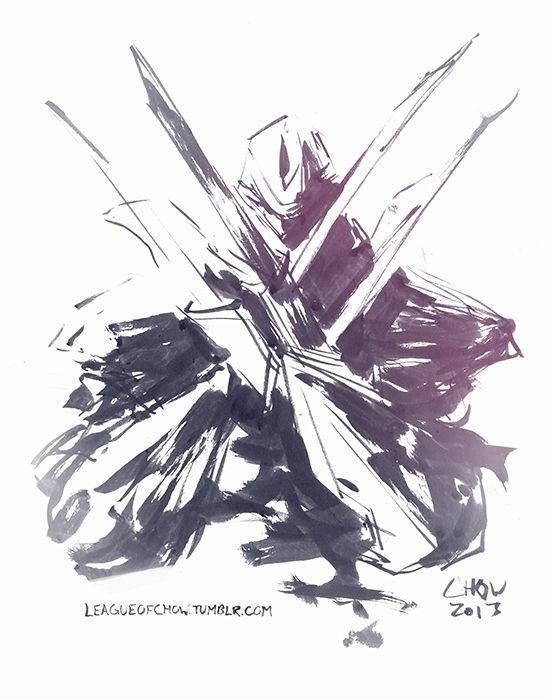 Zed The Master Of Shadows Clipart legends