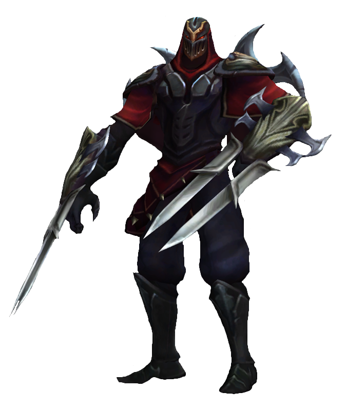Zed The Master Of Shadows Clipart lol