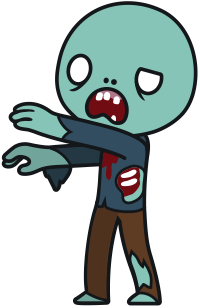 Free Cartoon Zombie Clip Art u0026middot zombie18