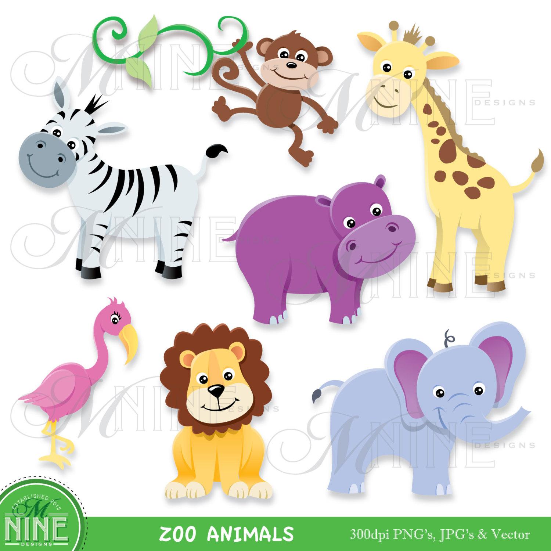 Zoo animal clip art free - ...